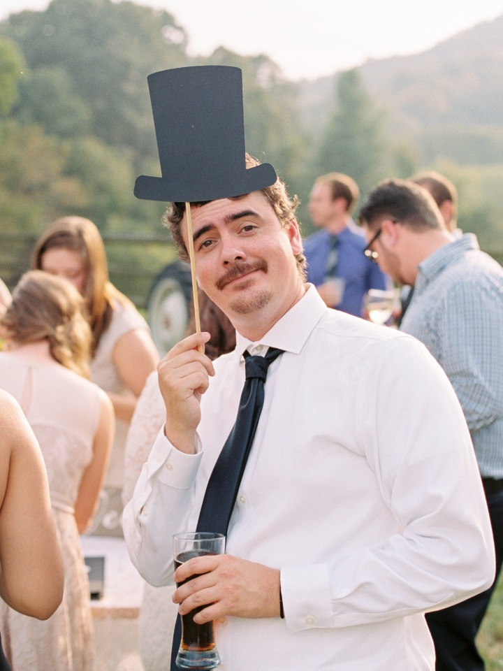 add a little fun to your wedding with fun photo booth props
