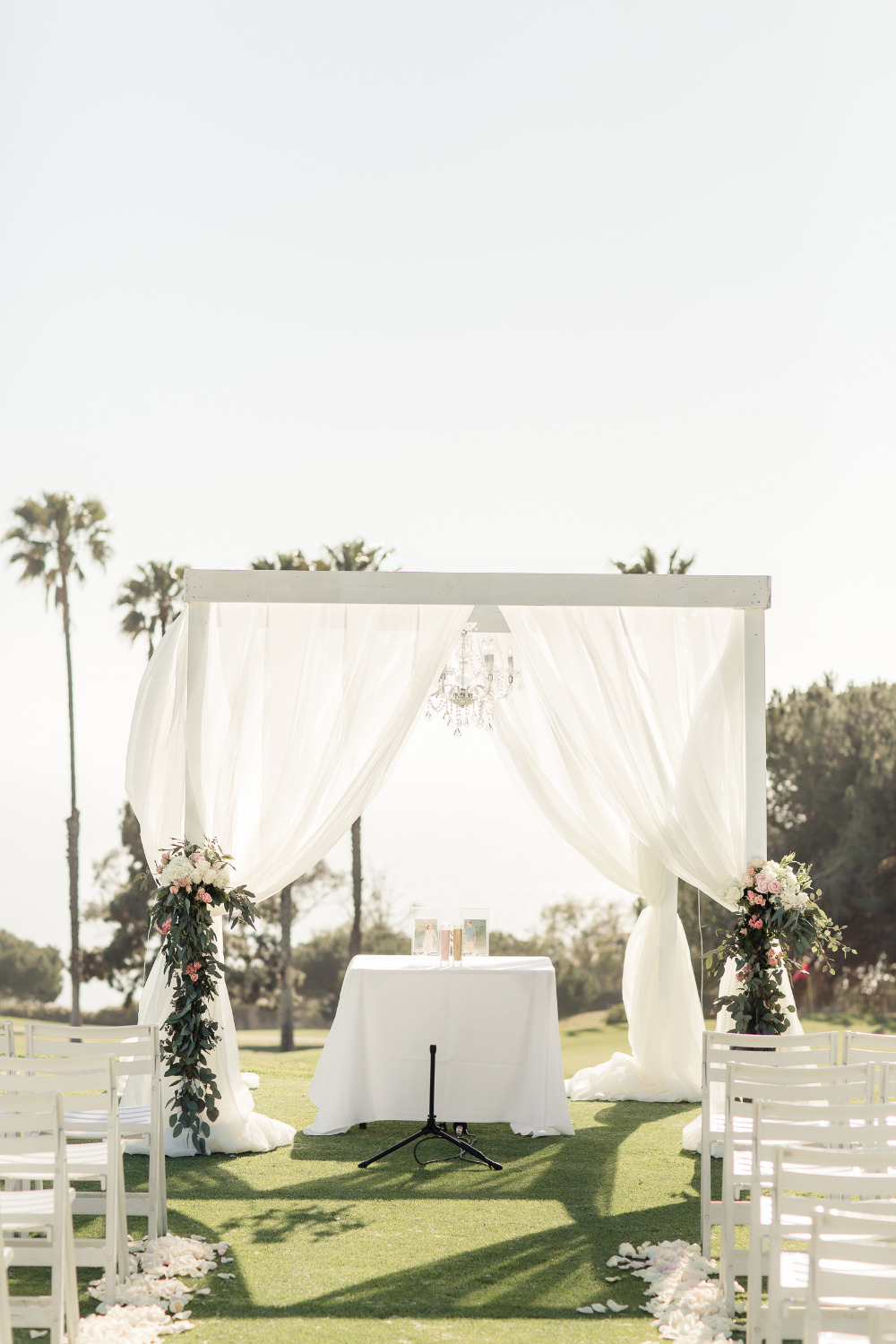 classic romance elegant wedding ceremony