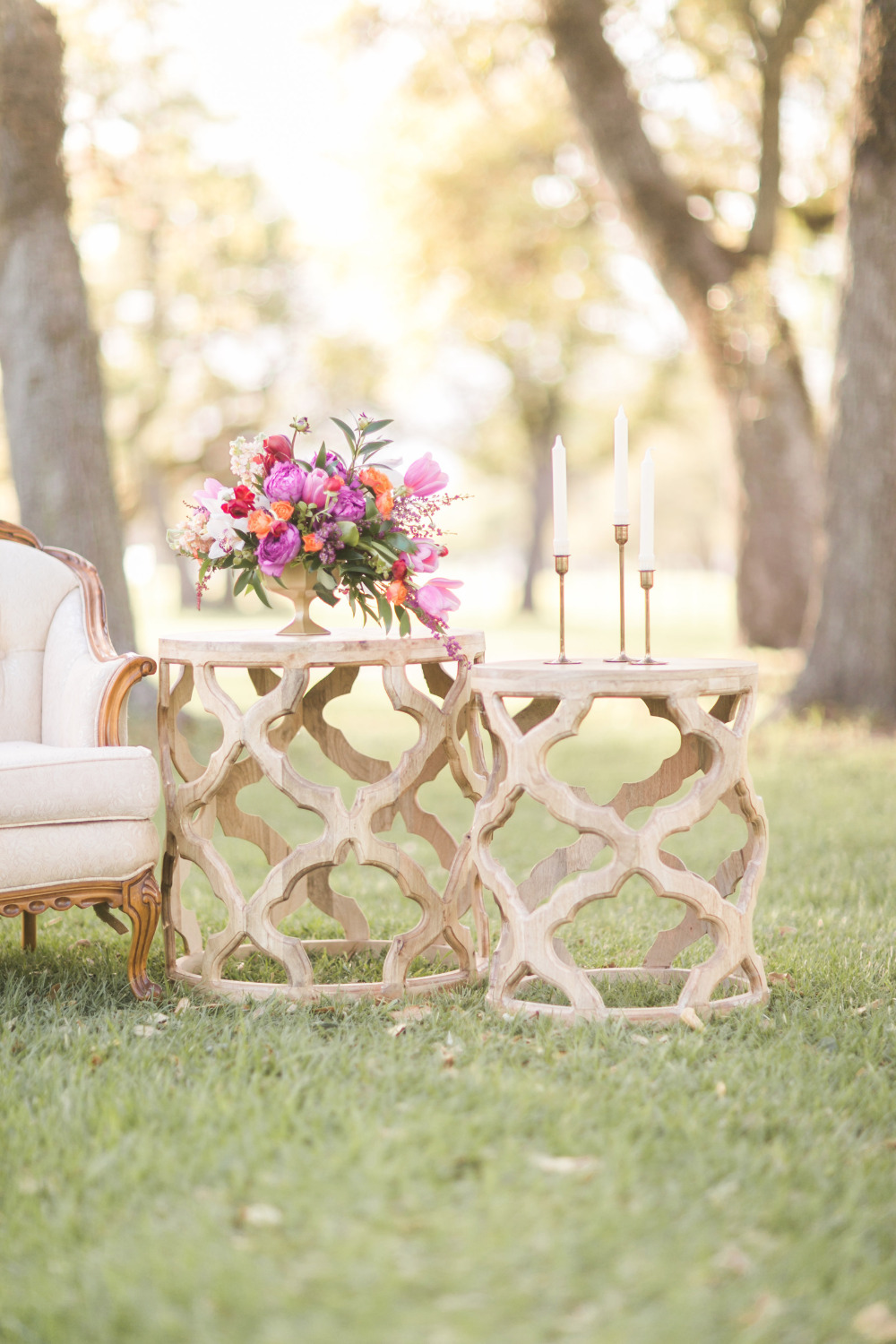 pretty sitting area for your wedding
