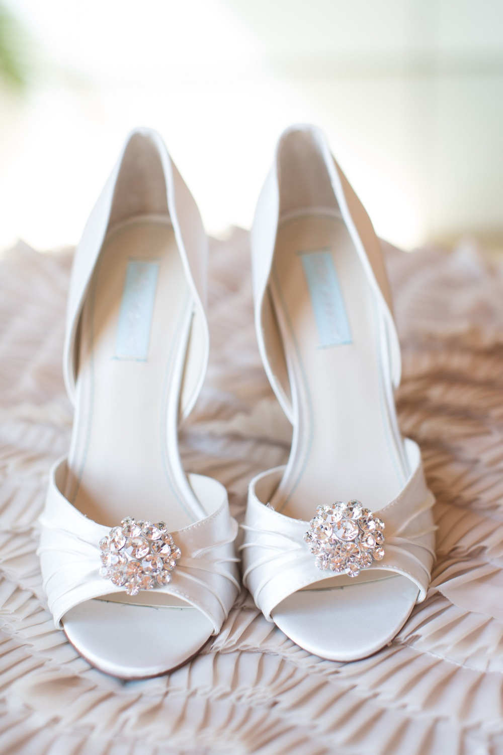 Elegant wedding heels