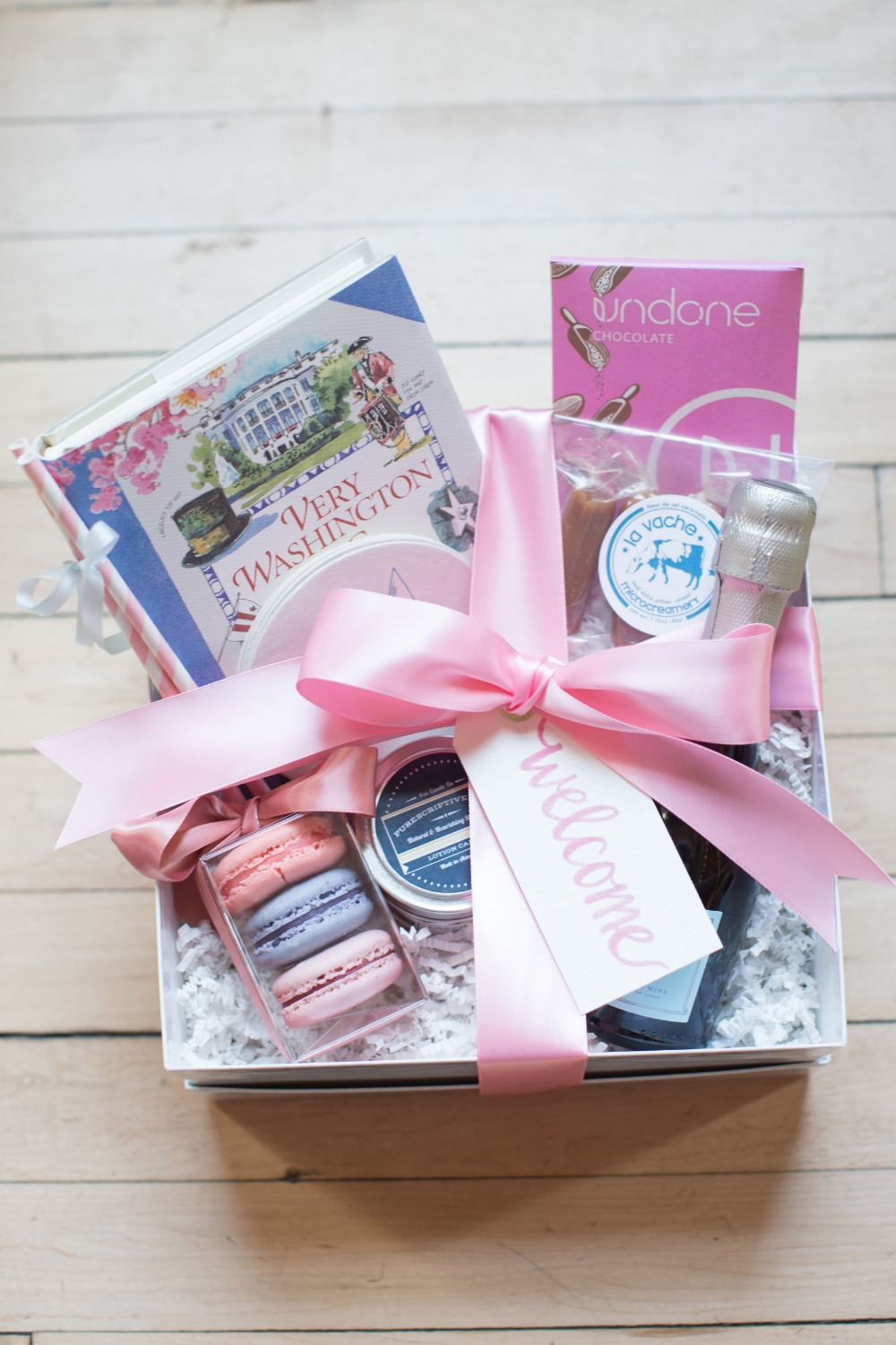 Welcome wedding box