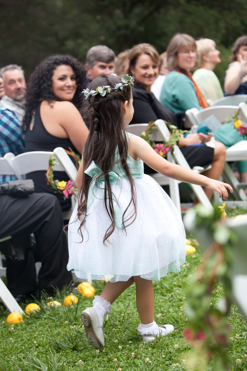 cute little tutu flower girl