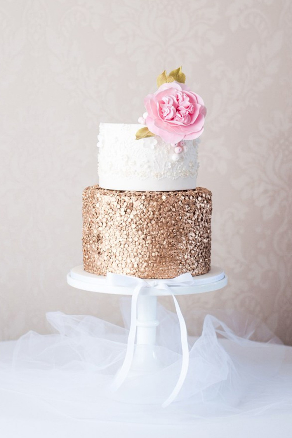 Simple Elegant Wedding Cakes Pictures