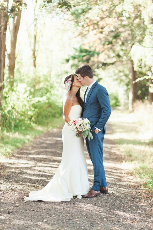 strapless dress by Nicole Miller from BHLDN