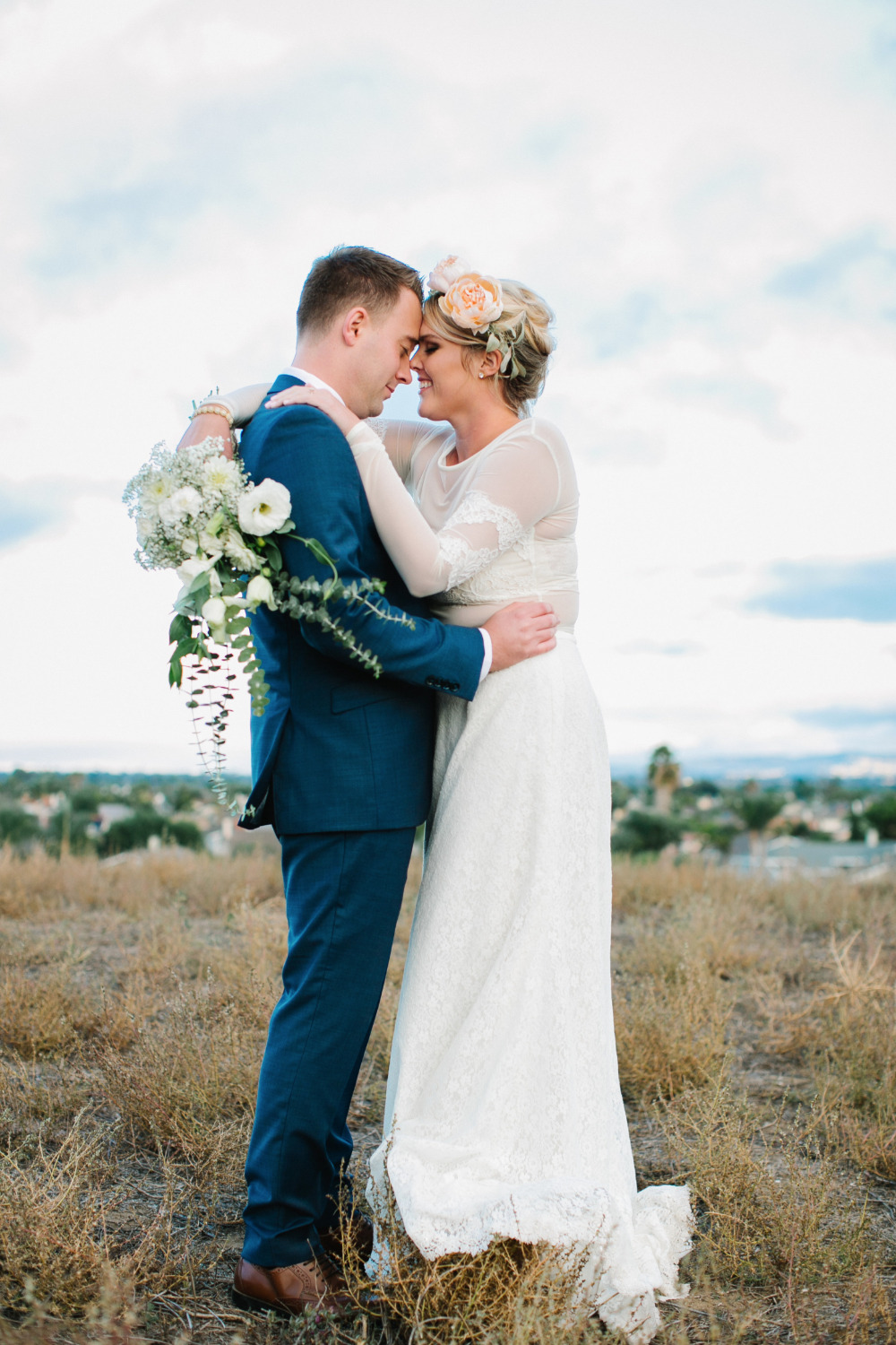 sweet special wedding photography moment