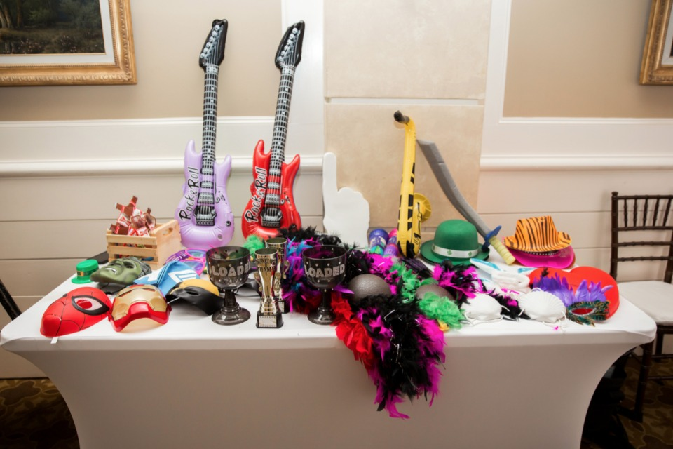 funky and fun photo booth props