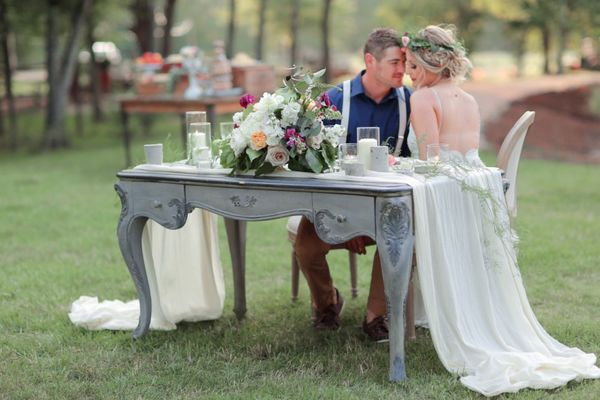 Summer Chic Boho Wedding