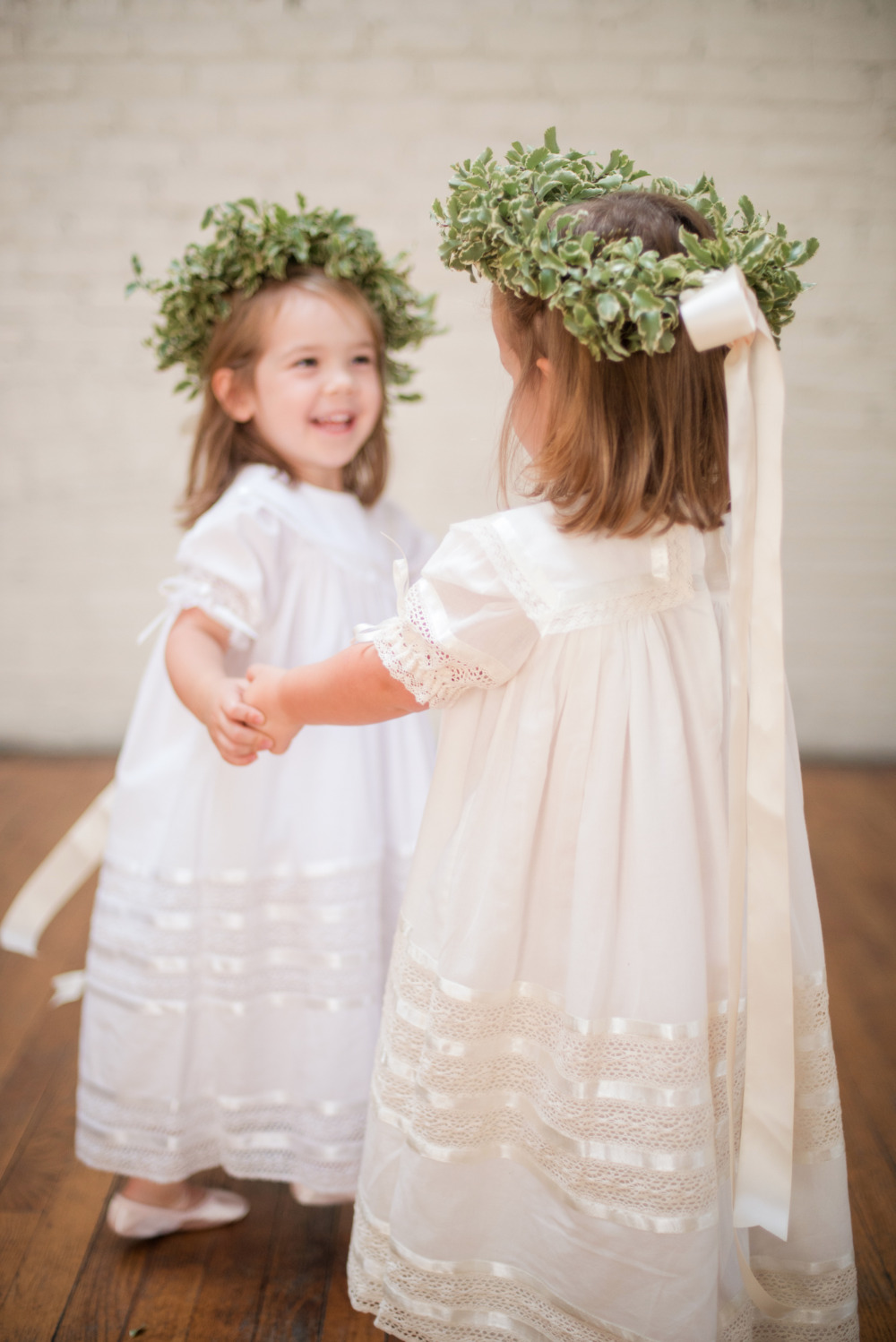 super cute cream flower girl dress
