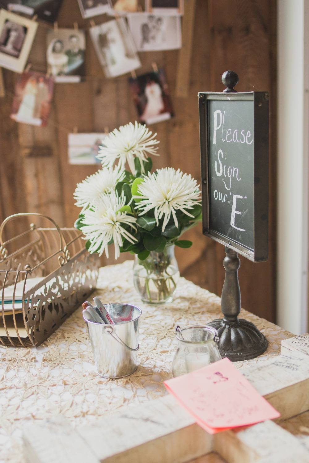 cute rustic and vintage table