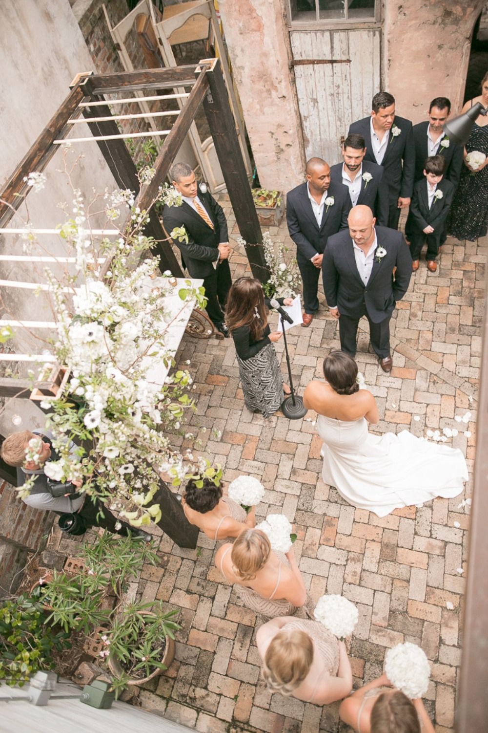 saying I do at Race + Religious in New Orleans