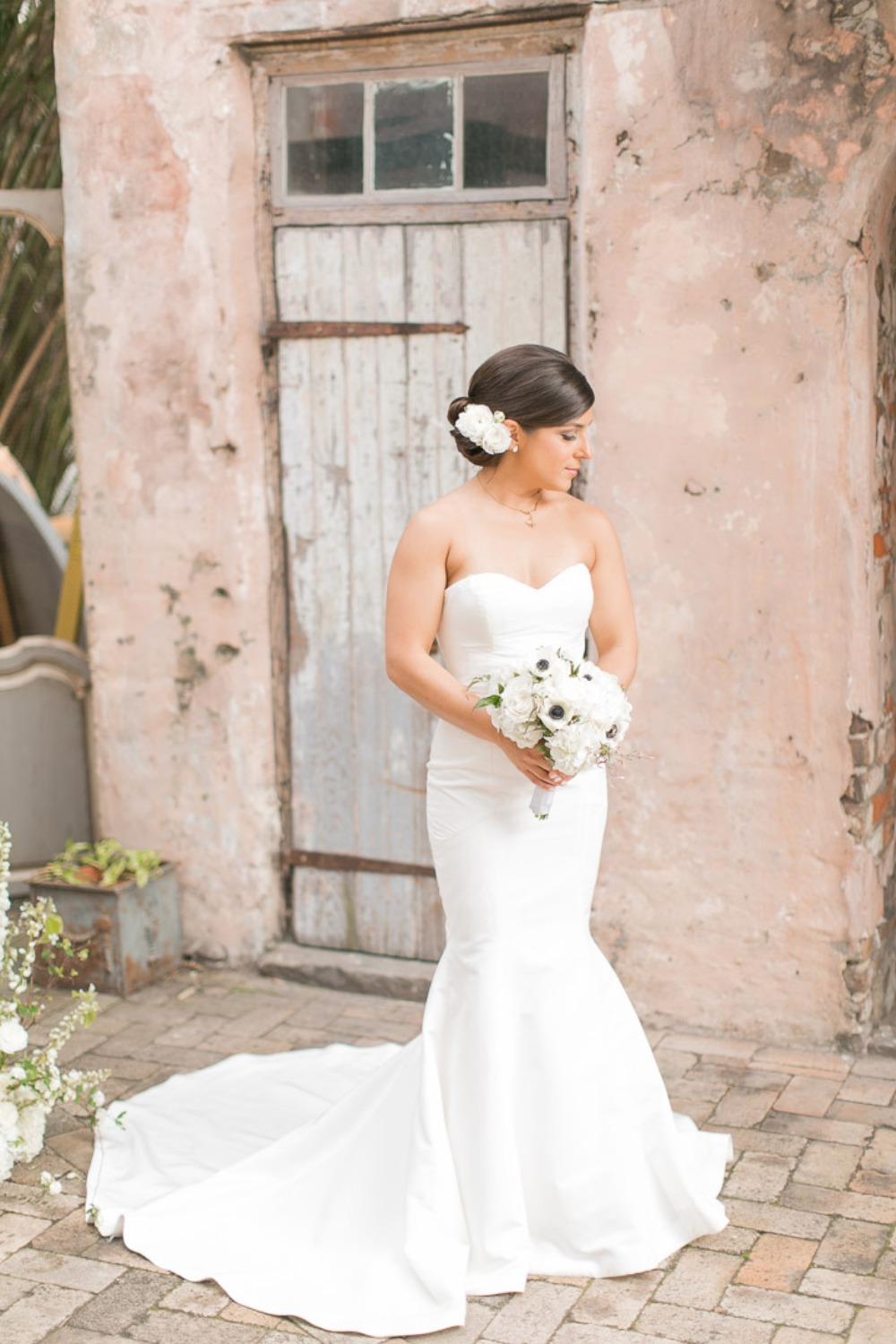 What Happens in New Orleans Blush Wedding