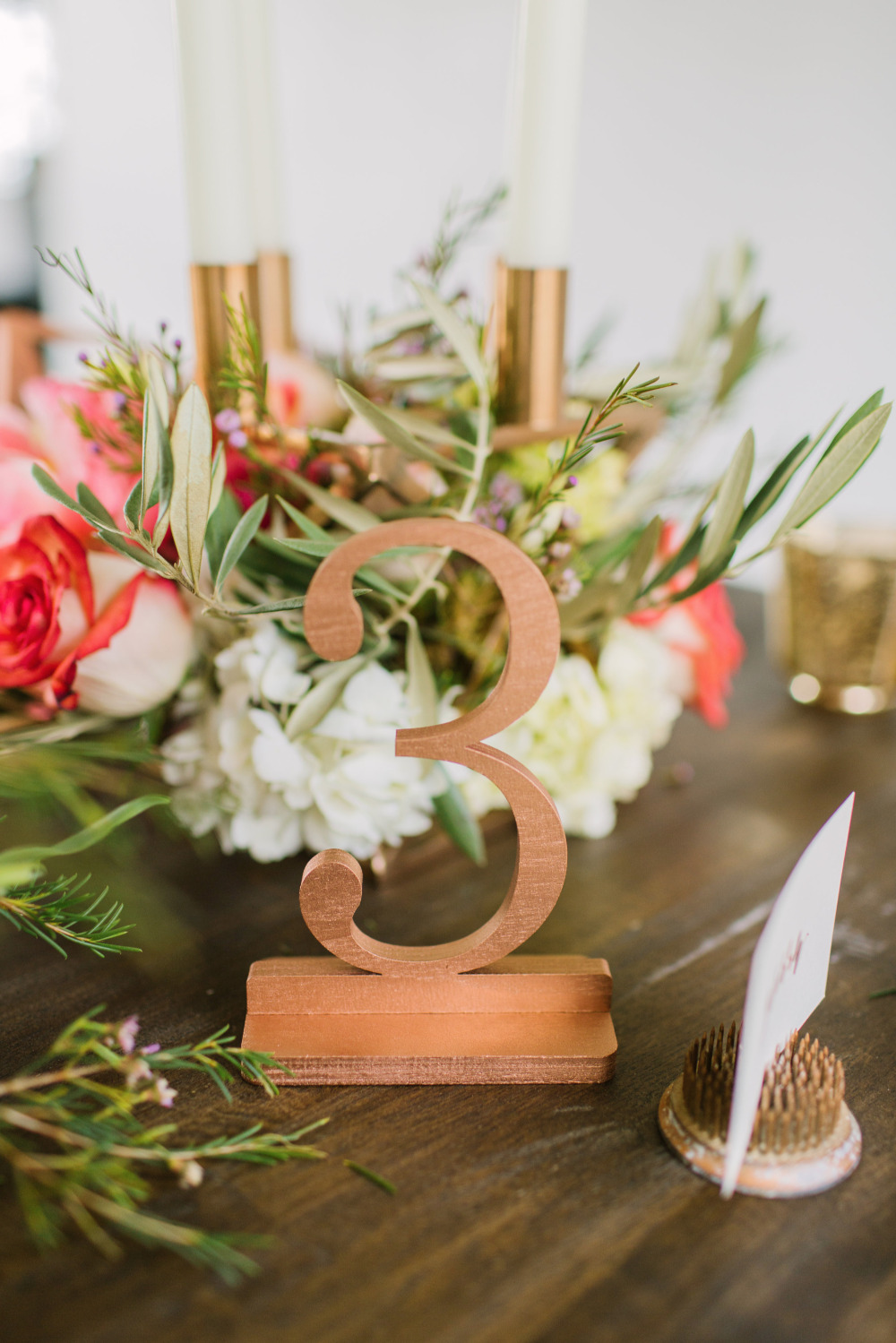 gold numbers wedding table numbers