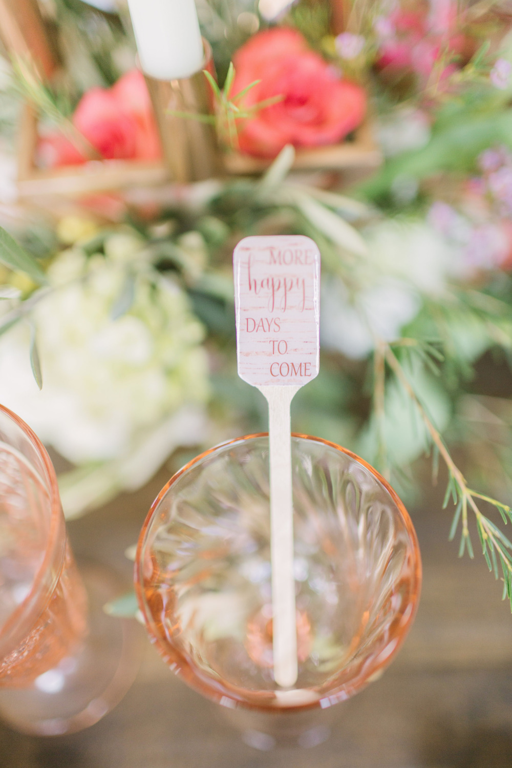 wedding drink stir stick