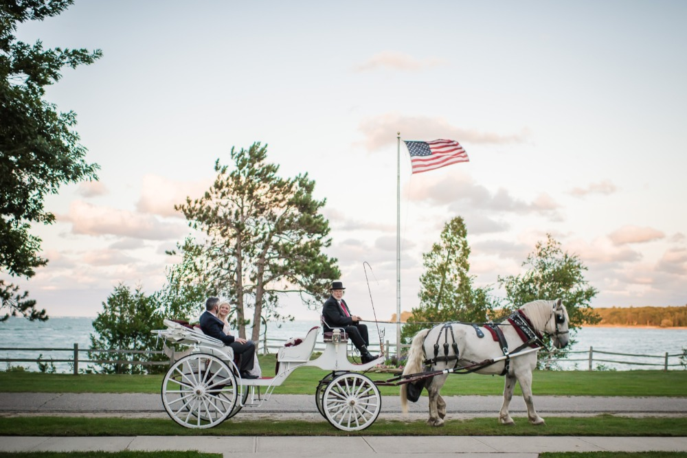 Wedding carriage dea
