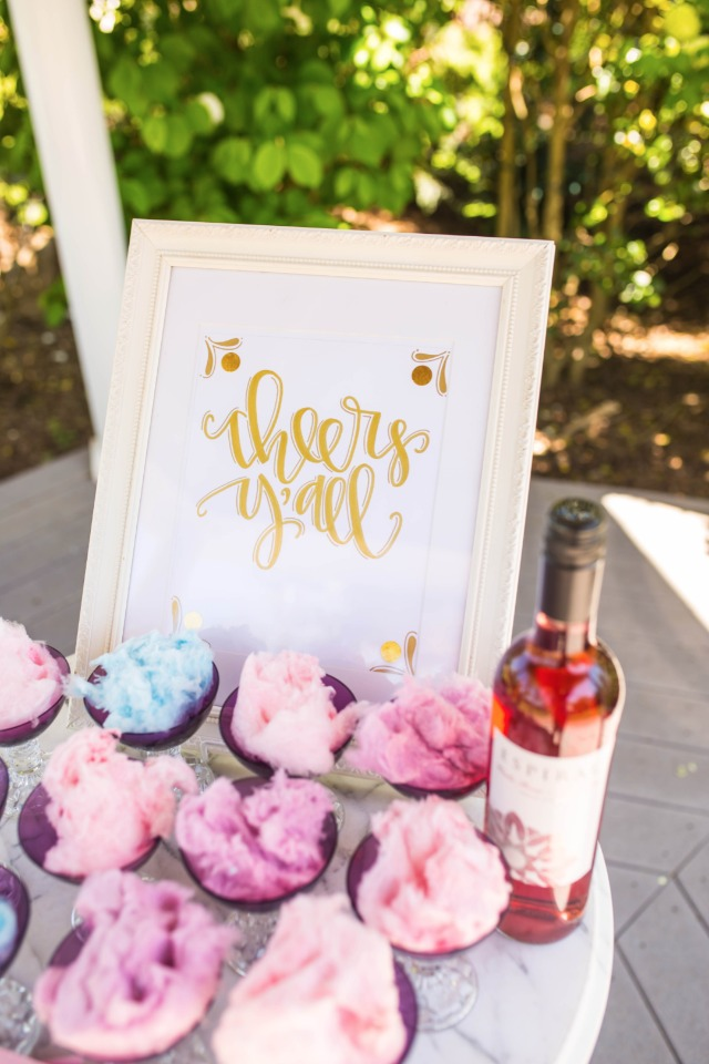 Cheers Y'all wedding sign by LJ Designs