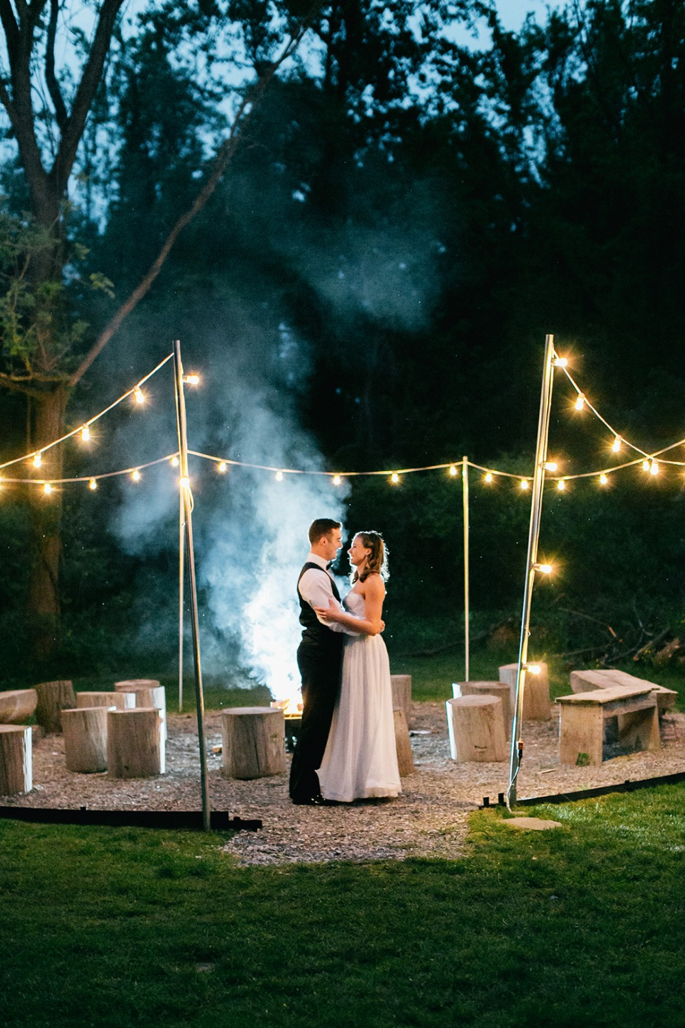 Wedding firepit idea