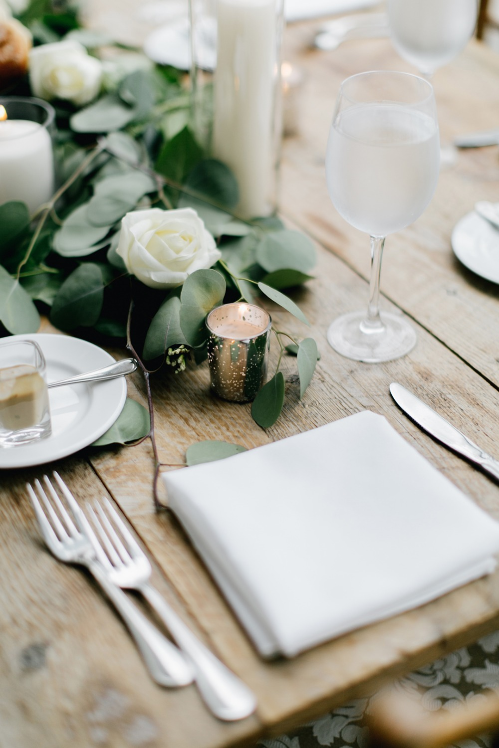 Simple table setting idea