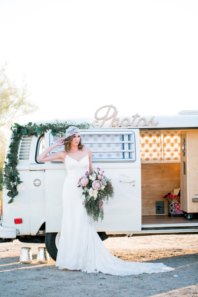 The Fotobooth Bus is perfect for your boho wedding