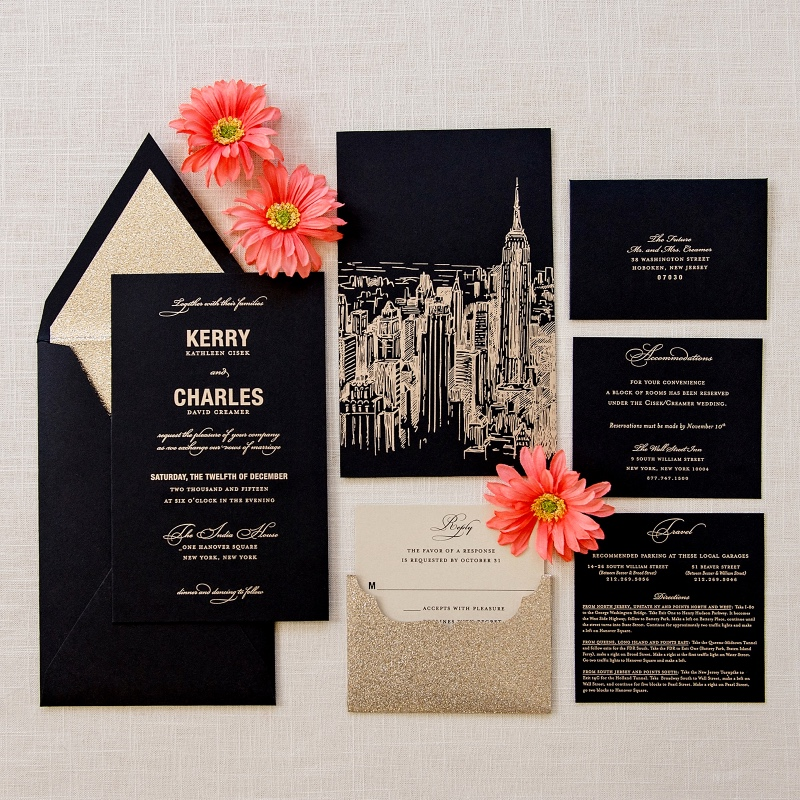 Inspiration Image from Little Black Dress Paperie