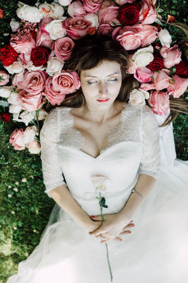 Lush Sleeping Beauty Wedding