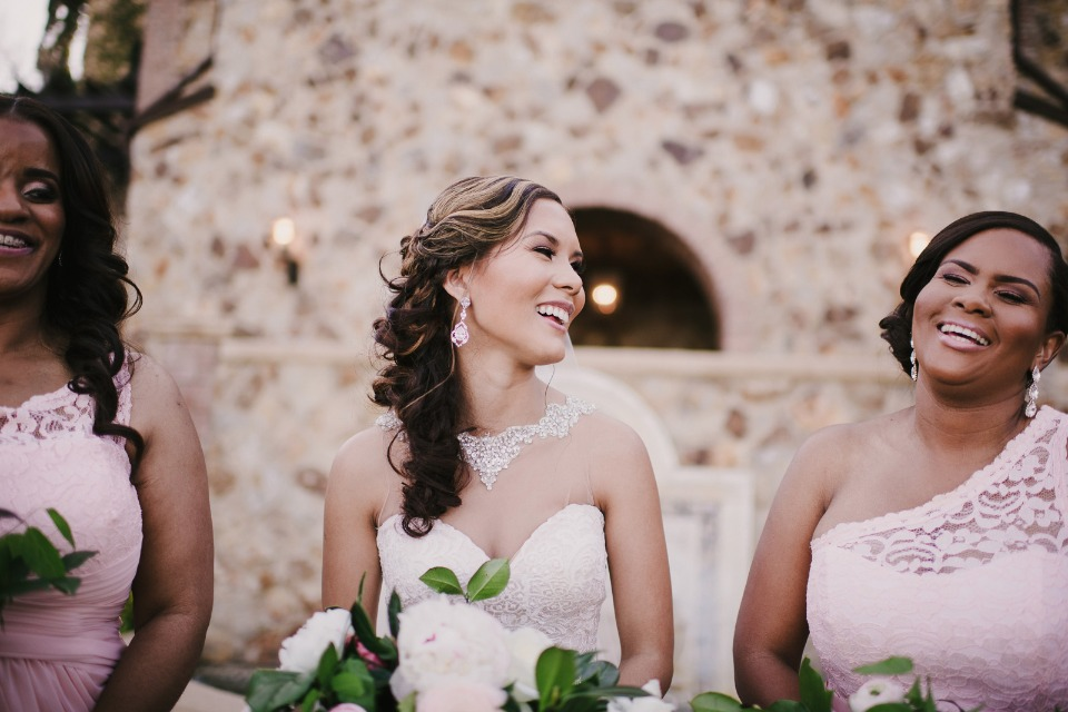 Best day ever for the bride and her maids