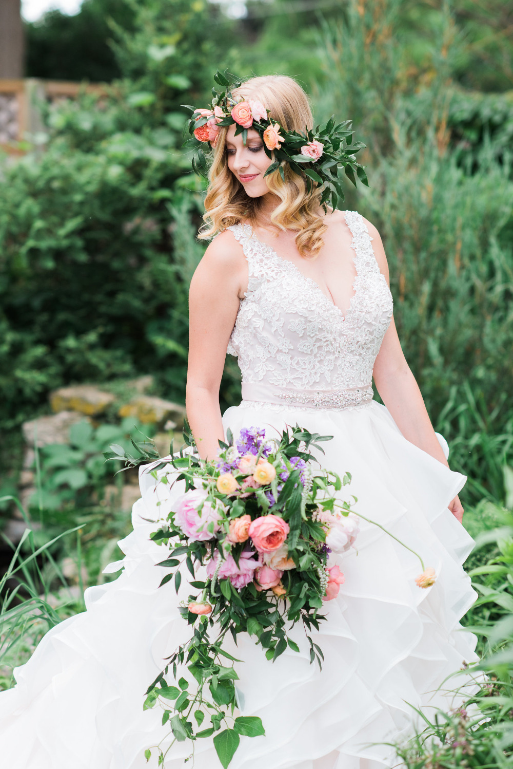 vintage garden wedding inspiration