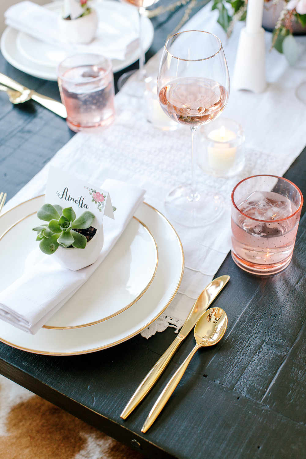 secrets to throwing a glamorous stress free dinner party