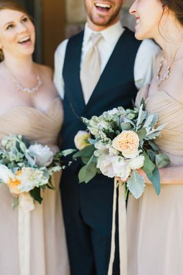 Glam Pastel Garden wedding