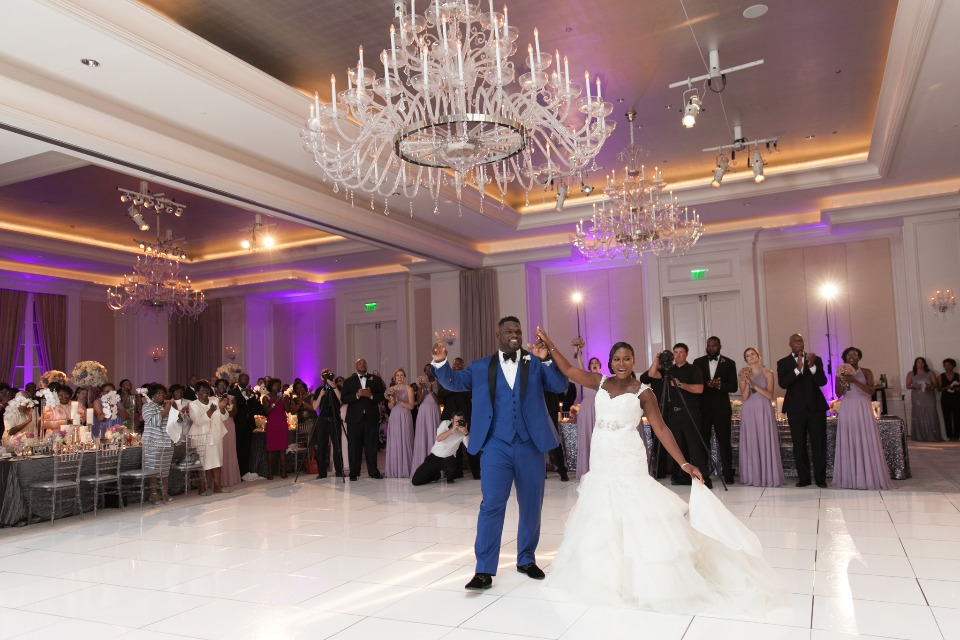 wedding reception at The St. Regis Atlanta