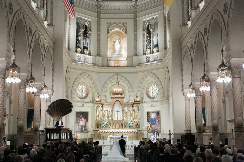New Orleans cathedral wedding