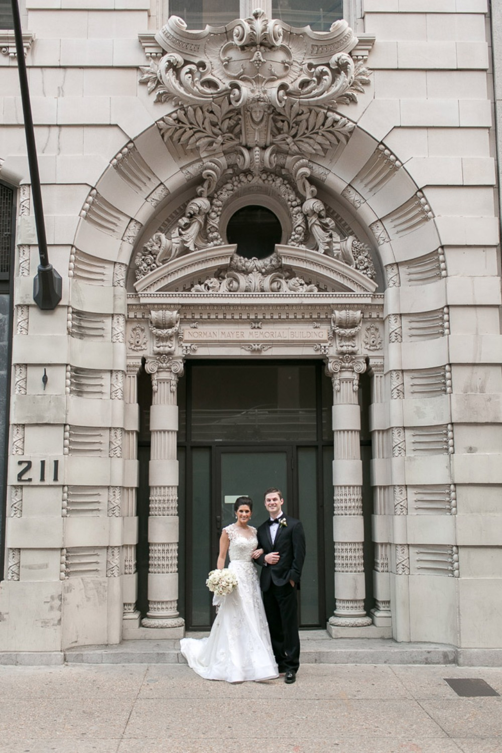 Newlyweds in New Orleans