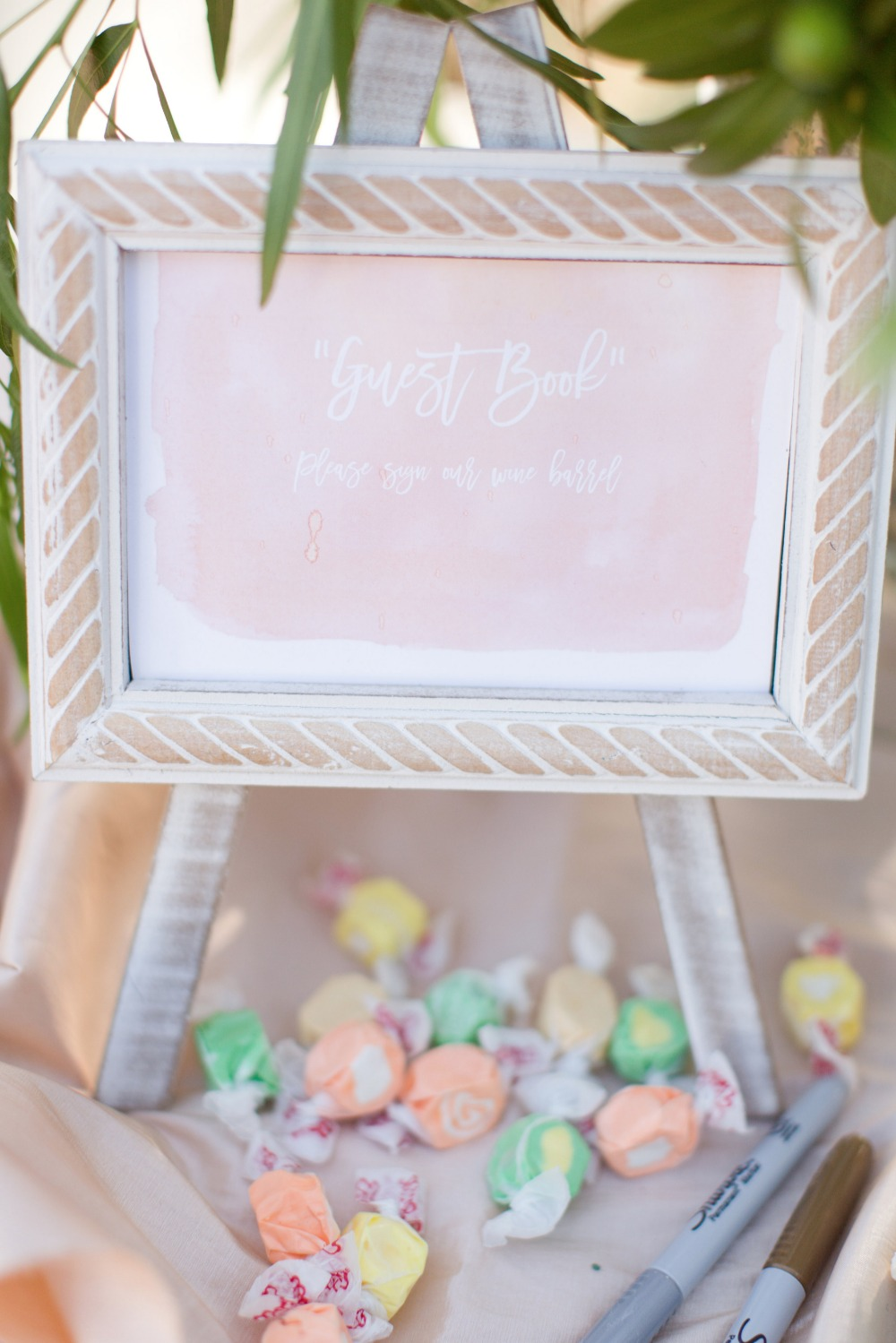 Candy guestbook