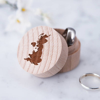 25 Lovely Wedding Ring Holders