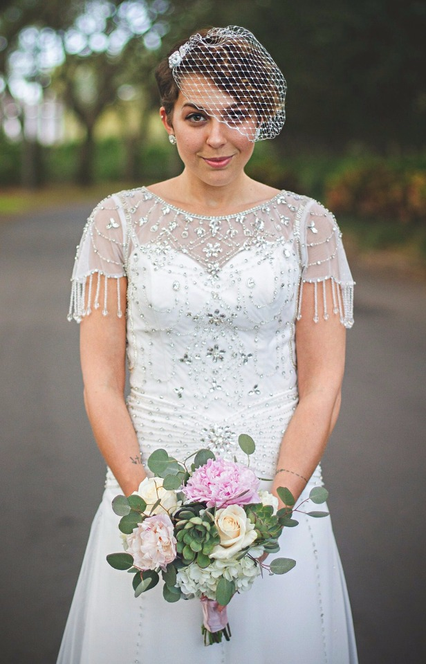 Personalized Wedding Dresses And Veils From Ieie\'s Bridal