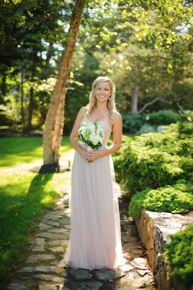 soft and sweet bridesmaid style from BHLDN