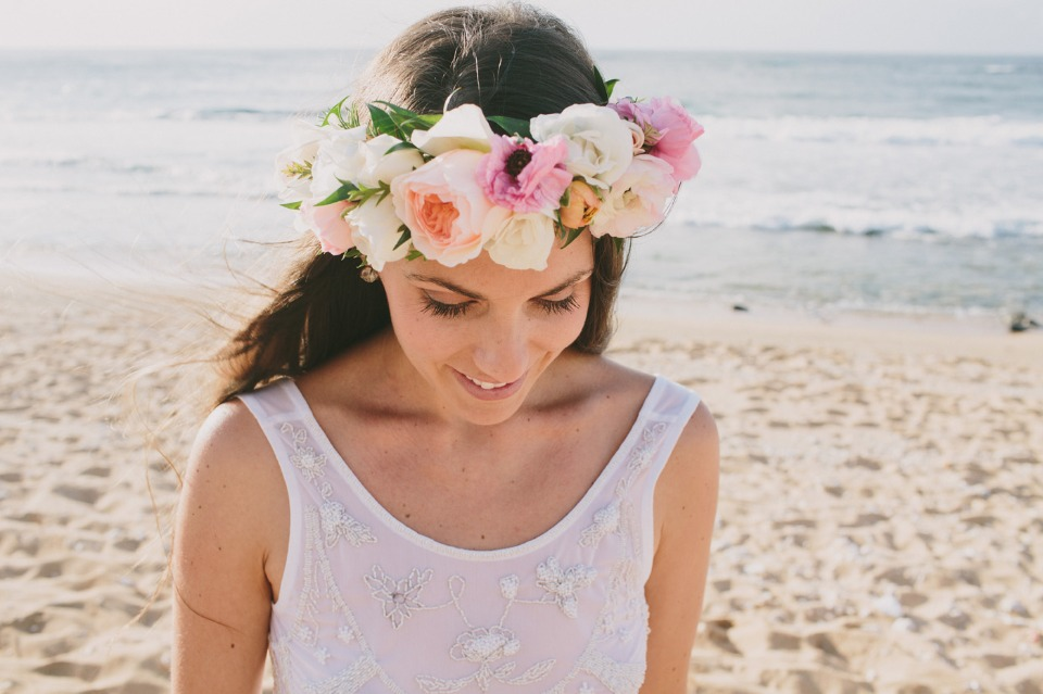 bridal flower crown perfect for a little boho style