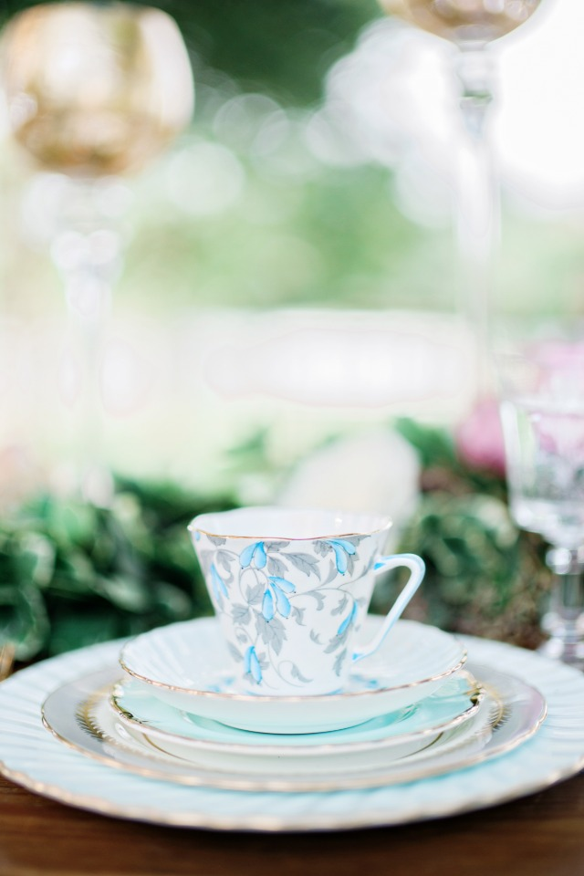 delicate vintage china from Vintage English Teacup