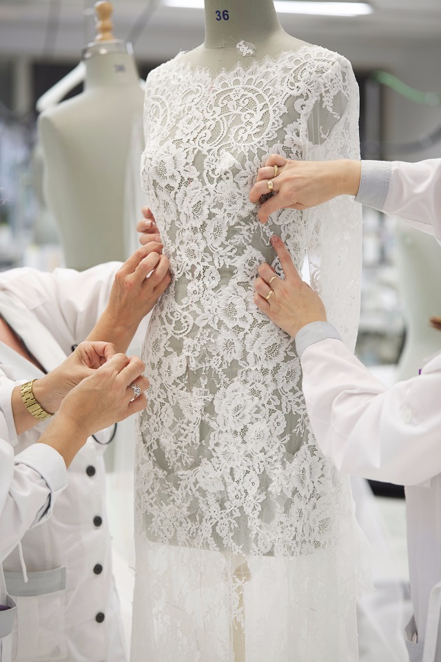 The Making Of A Ovias Wedding Gown