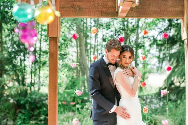 Stunning East Meets West Wedding Ideas