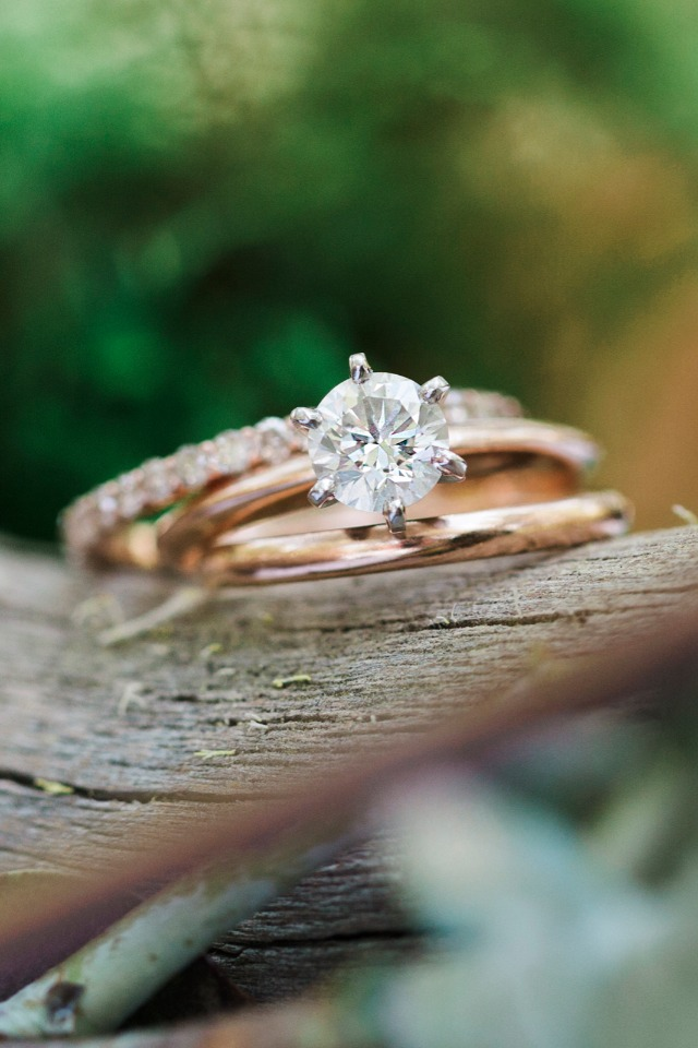 sparkle and shine wedding rings