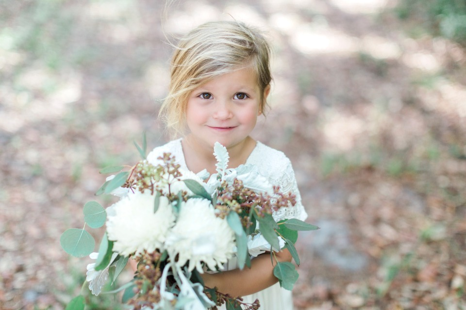 a flower girl that will steel your heart