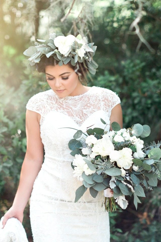 a bohemian bridal style we cannot get enough of