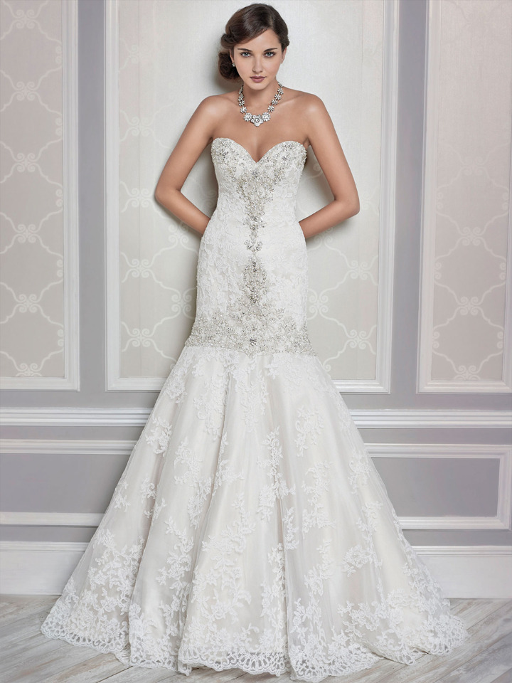 Kenneth Winston Trumpet Wedding Gown