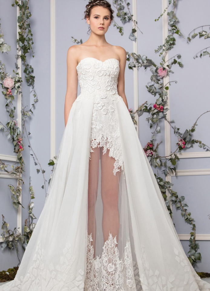 2017 unique wedding dresses style mavens this tony ward wedding dress is calling your name with its off white mermaid cut and hand tulle you will take everyones breath away junglespirit Image collections