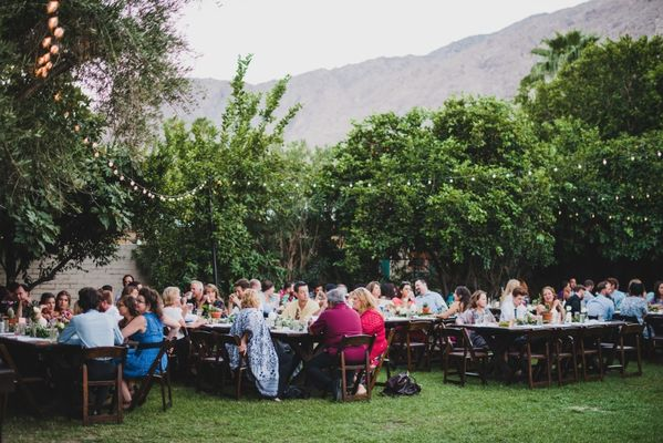 Relaxed Stylish Palm Springs Wedding