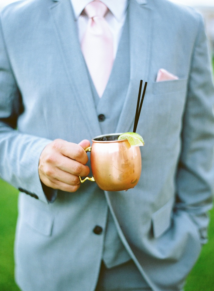 moscow mule wedding cocktail