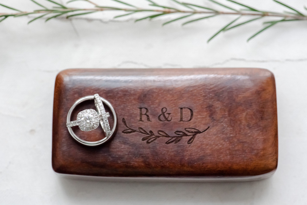 custom wood ring box