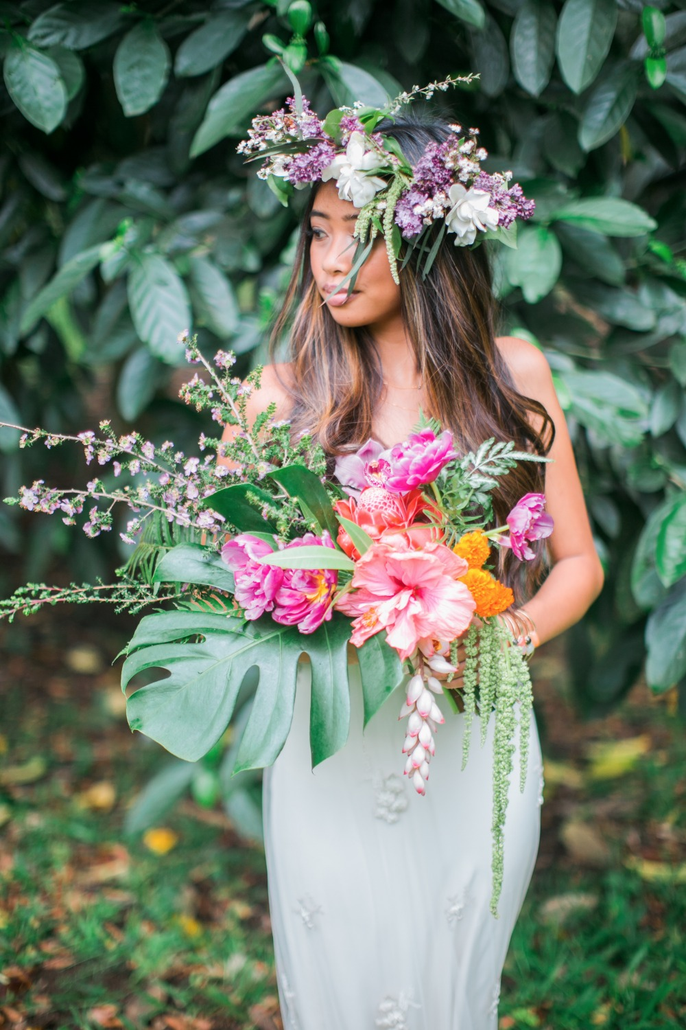 Hawaiian Boho Garden Wedding Inspiration