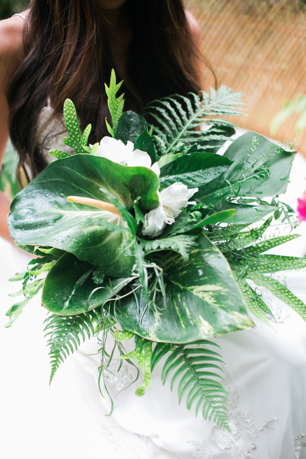Lush green bouquet