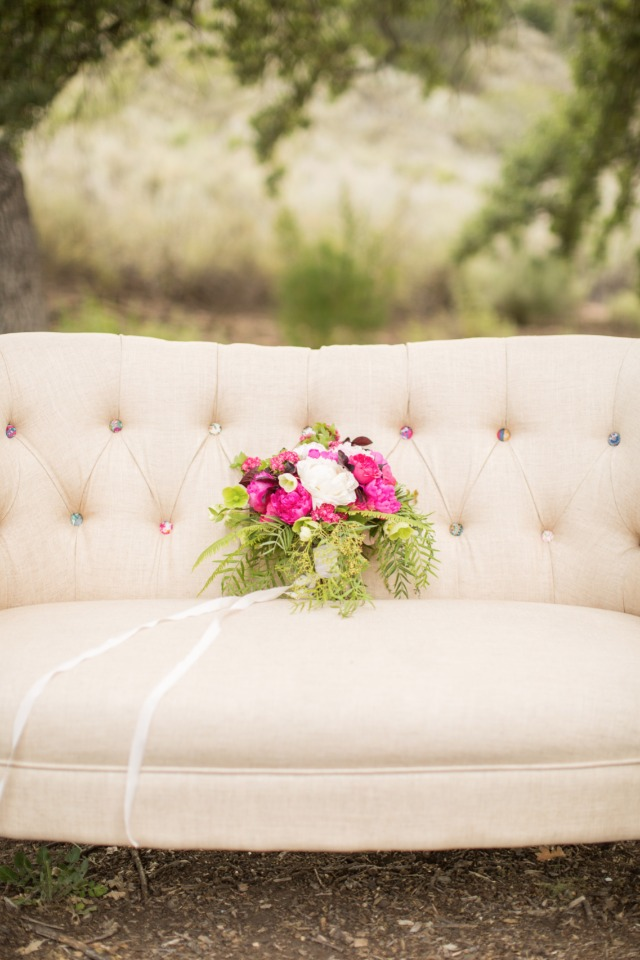 wedding rental furniture set the romantic tone